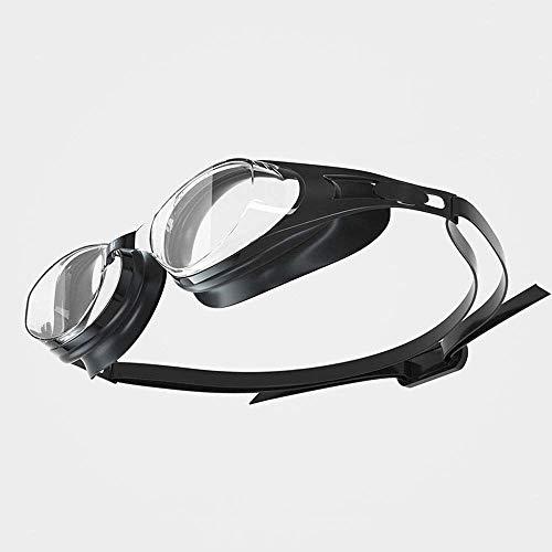 Cfilet Nadar unisex-adultos gafas reflejadas, polarizadas anti-deslumbramiento anti-niebla UV Protección de UV con espejo amplio visión adulto gafas de natación, gafas y engranajes Gafas de piscina (c
