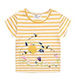 LOKKSI - Camiseta de manga corta para niños y niñas, diseño de dinosaurio,...