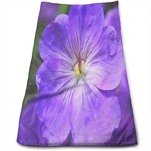 Cool Violet Flowerquick - Toalla de baño súper suave