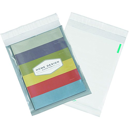 Partners Brand PCV912100PK Clear View Poly Mailers, 9
