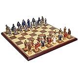 RJJX Home Ajedrez decoración del hogar de plástico Tridimensional de ajedrez Tablero de ajedrez Educativo Conjunto de Juguete de ajedrez la decoración del hogar de Escritorio
