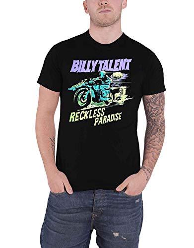Billy Talent T Shirt Reckless Paradise Band Logo Nue offiziell Herren