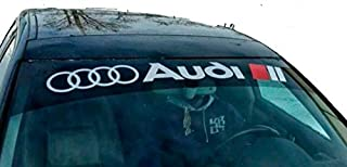 GY Vinyl Arts,Quattro, Windshield, Decal, Car, Sticker, Banners,Graphics