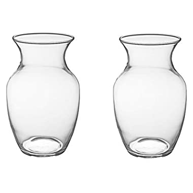 8  Glass Rose Vase (Case of 2) #999 By Oasis® Floral Products