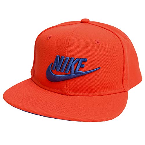 Nike Kinder Y NK PRO Cap Futura 4 Hat, Cargo Khaki/Volt/(Black), MISC