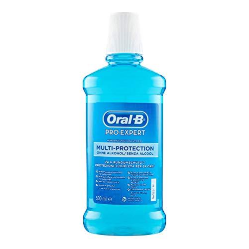 Oral-B Pro-Expert Mundwasser ohne Alkohol, eine Flasche, Geschmack Fresh Mint