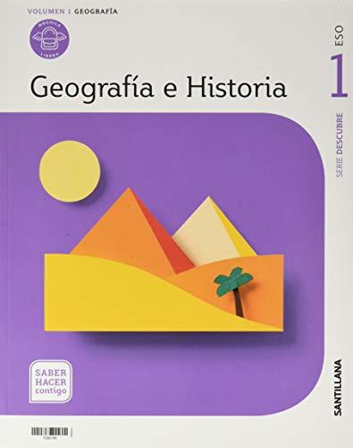 GEOGRAFIA E HISTORIA MOCHILA LIGERA SERIE DESCUBRE 1 ESO SABER HACER CONTIGO