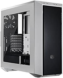 Cooler Master MasterBox 5 White with Dark Mirror Front Panel Case per PC 'ATX, microATX, Mini-ITX, USB 3.0, con Finestra L...