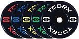 G5 HT SPORT Toorx Disco Absolute Bumper Training con Foro OLIMPIONICO ø 50mm (10 kg)...