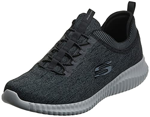 Skechers Sport Men's Elite Flex-Hartnell Fashion Sneaker,Black/Gray,9.5 M US