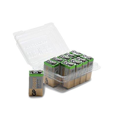 GP Batteries 23A/A23/MN21 - Pilas alcalinas de Alto Voltaje (E23A/MS21/MN21/LRV08/A23, 12 V,...