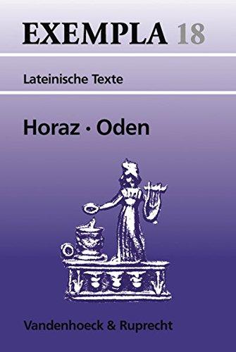 Oden. Eine Auswahl. (Lernmaterialien) (EXEMPLA, Band 18)