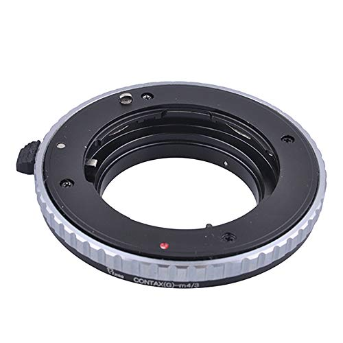 Price comparison product image Pixco Lens Adapter for Contax G Lens to Micro 4 / 3 M4 / 3 Adapter LUMIX GX7 GF6 GH3 G5 GF5 GX1 GF3 G3 Olympus OM-D E-M1 E-M5 E-PL6 E-P5