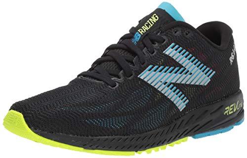 New Balance Men's 1400v6 Running Shoe, Black/Polaris, 9.5 D US