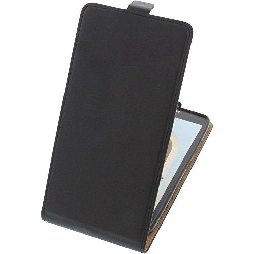 foto-kontor Tasche für Alcatel A7 XL Smartphone Flipstyle Schutz Hülle schwarz
