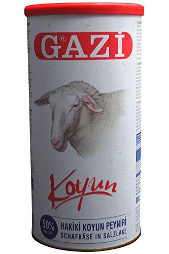 Gazi - Schafskäse in Salzlake 50% Fett i.Tr. - Koyun peyniri (800g Abtropfgewicht)