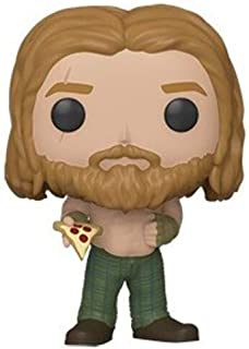 Funko Pop! Marvel: Endgame - Thor con Pizza, Multicolor