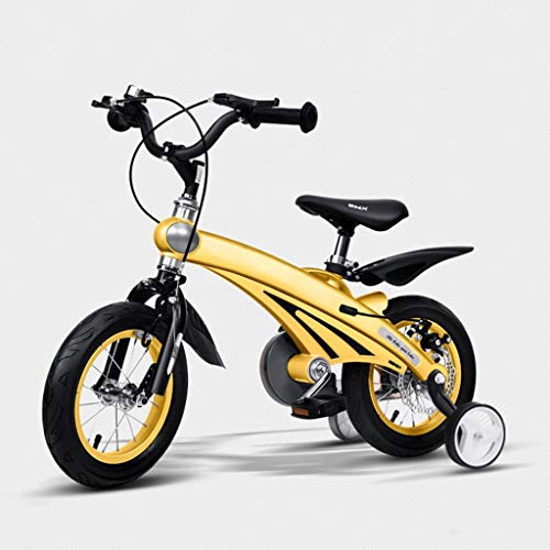 Qiangzi New Model 3 Wheel Baby Tricycle Children's Bike Baby Stroller 12/14/16 Inch Bicycle Mountain Bike Child Bike for 3-4-5-6 Years Old Boys and Girls (Colors are Optional) Best Gift for Kids