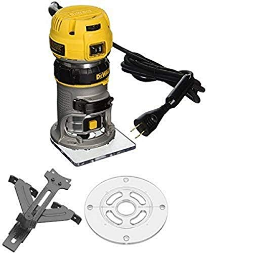 DEWALT DWP611 1.25 HP Max Torque Variable Speed Compact Router with LED