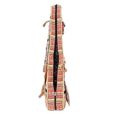 The House Of Tara Handloom Fabric Guitar Case (Multicolor 10) 6