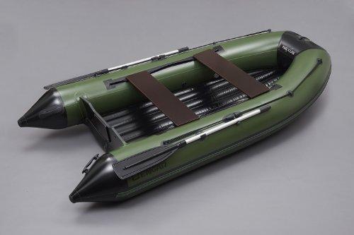 N-320 cm Schlauchboot Boot Angelboot (grün/schwarz) mit Luftboden Bengar Nexus