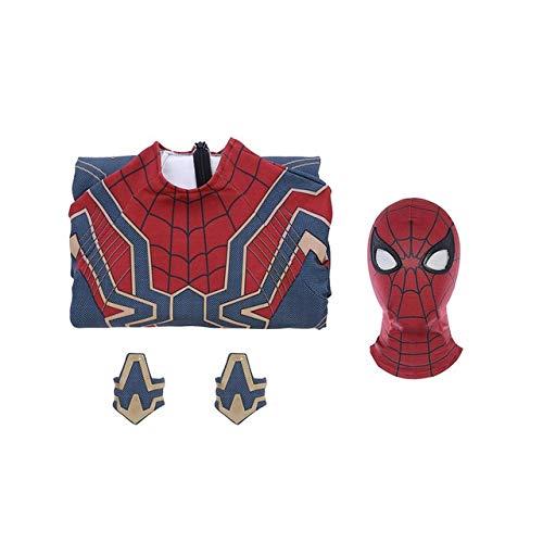 EQWR Hohe qualität luxus Avengers 3 Spiderman Heimkehr Cosplay Kostüm Eisen Spider Man Superheld Body Overalls L 1-WEIBLICH