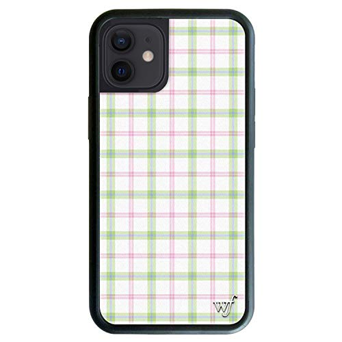 Wildflower Limited Edition Cases Compatible with iPhone 12 and 12 Pro (Summer Plaid)