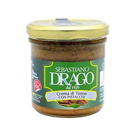 Sebastiano Drago - Crema di Tonno con Pistacchi 130 gr