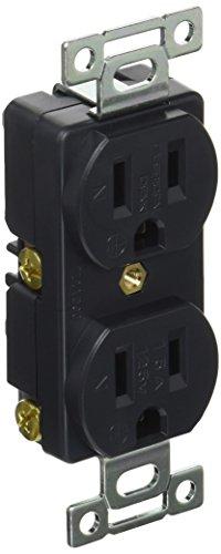 アメリカン電機 平刃形 複式埋込コンセント 接地2P15A125V 7110GD 1個 442-9281