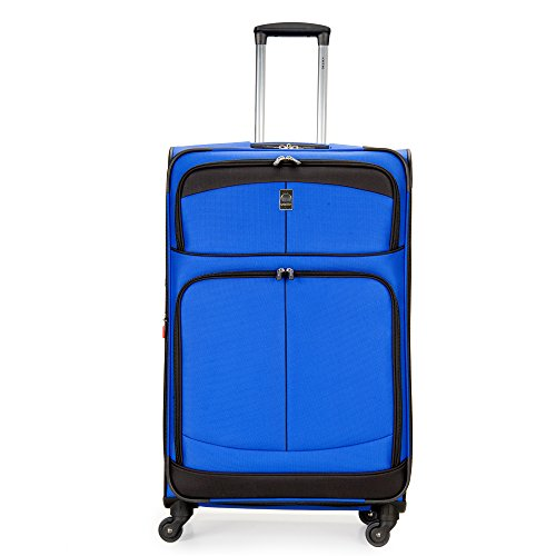 Delsey Luggage Agility Softside 29-Inch Expandable Spinner (One Size, Blue)