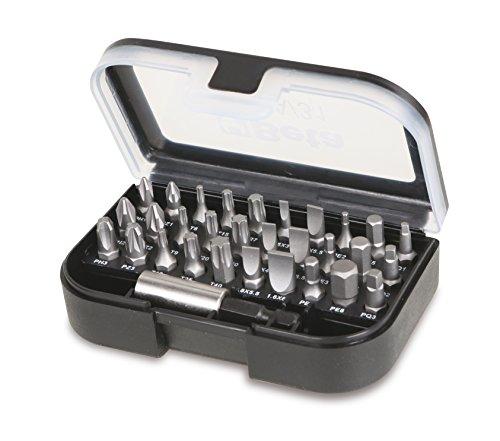 Beta Tools, 860EA/31,Punte magnetiche per cacciaviti, di qualità, Colore Nero, 0,6cm, Set di 30 Pezzi