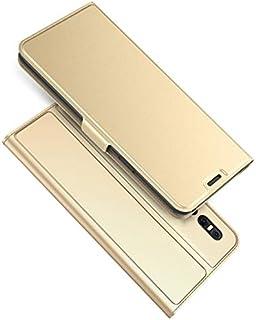 の Vivo X27, MeetJP 電話ケーススリム フリップ カバー ?と 電話ケーススリム (Golden)