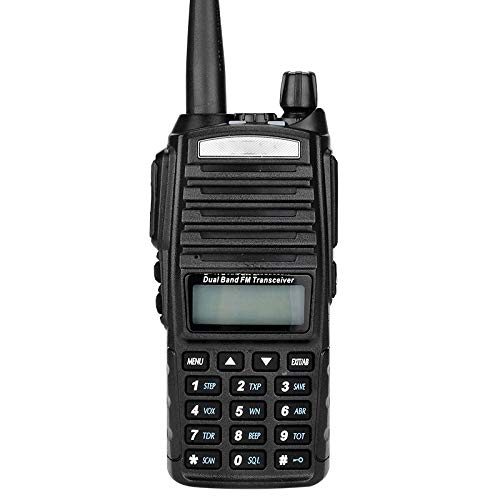 LOREMYI Walkie Talkie 5W UV-82 Two-Way Radio Station Transceiver Two Way Radio Communicator USB Charging Walkie-Talkie