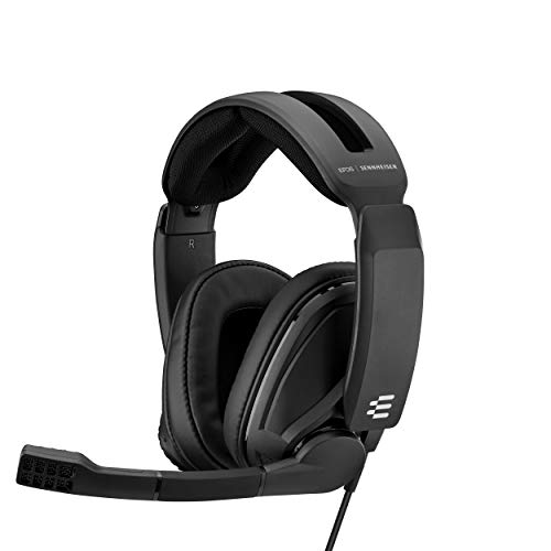Sennheiser GSP 302 Negro Auriculares con Micro para Gaming Ajustable con Diadema Multiplataforma