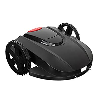 Pre Programmed Robotic Lawn Mower Subarea Weeding Machine Electric Mower with LCD Screen