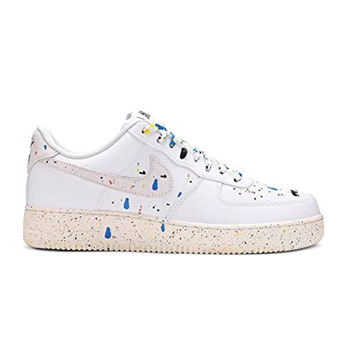 Nike Air Force 1 07 LV8, Mehrfarbig - White Sail White - Größe: 44 EU