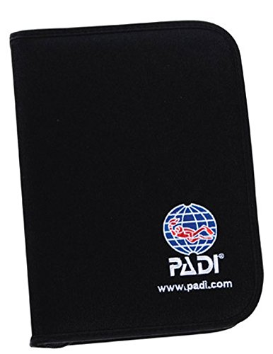 Padi - Binder-Adventure Log, Nylon Fabric, Black Logbuch tauchen