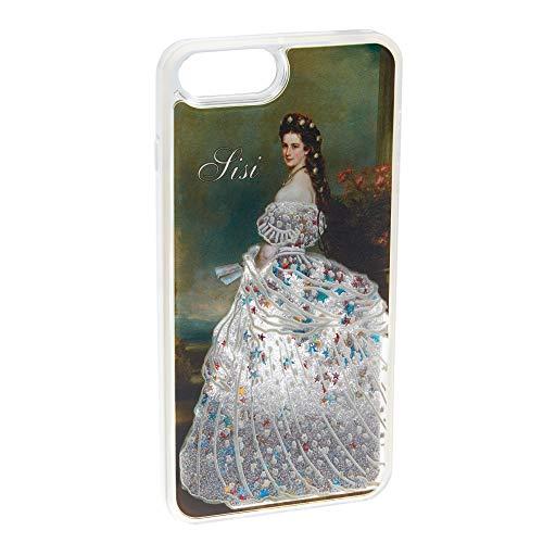 Schönbrunn Sisi - Cover rigida per iPhone 6 + 6S + 7 + 8 + + Cover rigida con glitter artificiali, per iPhone (Sisi - iPhone 6+/6S+/7+/8+)