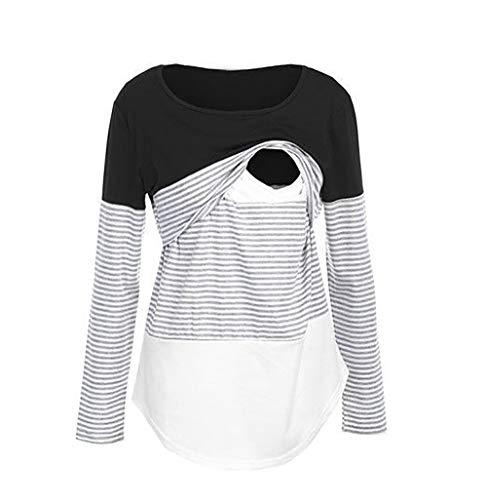 YOINS Camicia Donna Estivo Maglietta Manica Corta Bluse Spalle Scoperte Maniche a Pipistrello Top Casuale Rotondo T-Shirt