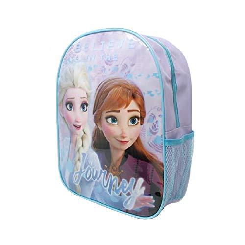 Mochila pequeña de lona ligera Frozen II con bolsillo de malla