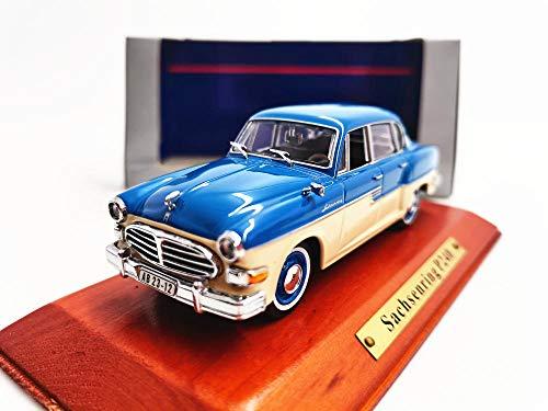 THKZH 1/43 Sachsenring P240 Leichtmetallmodelldiecast Autos,Oldtimer Modellautos,Automodelle Für Erwachsene,Sammlung Modellautos,
