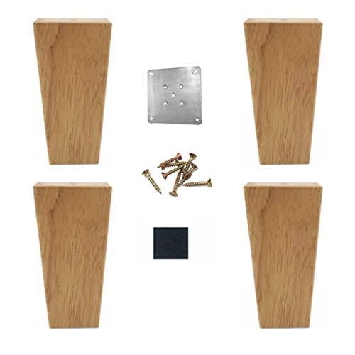 1 pack Patas para Mueble,Patas de Mesa de Metal,Pies de Soporte Triangulares,Para Mesas de Caf/é,Mesas de Caf/é,Sillas y Proyectos de Bricolaje,Negro