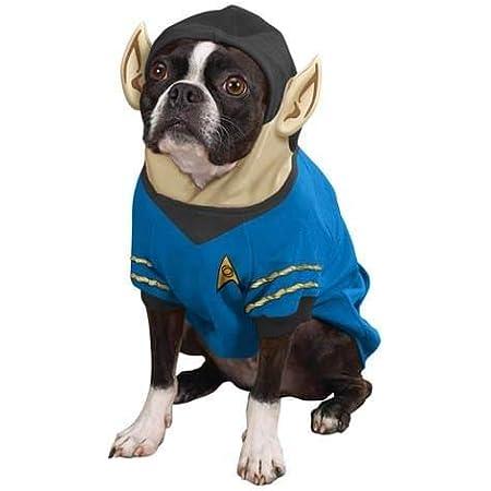 Star Trek Spock Dog Costume Hoodie Pet X-Large