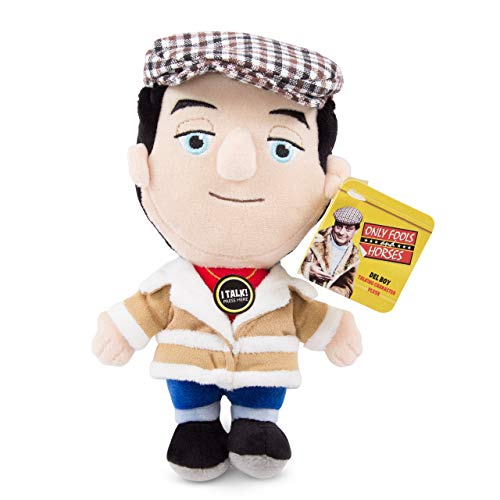 Only Fools And Horses Del Boy Talking Plush Toy. Rodney and Uncle Albert also available.