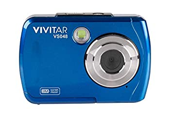 Vivitar ViviCam S048 Waterproof Digital Camera  Blue