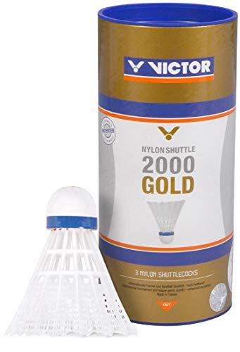 VICTOR Nylon Shuttle 2000 Gold-Weiß-Blau