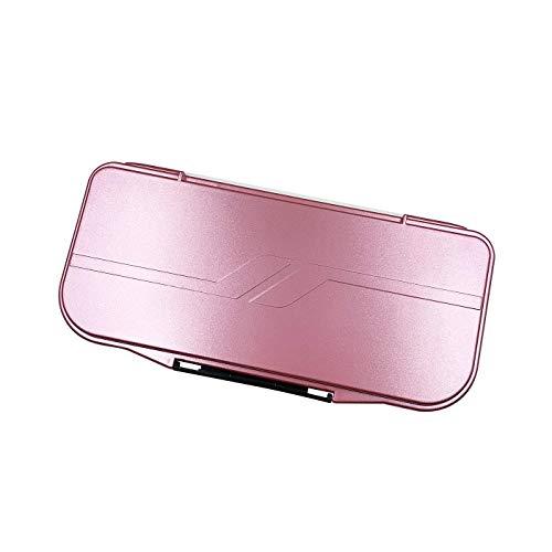 18-Wells Watercolor Paint Palette,Premium Moisturizing foldable Travel Portable Folding Paint Palette Box (PEAR RED, 18-WELLS)