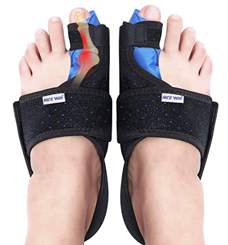 Bunion Corrector Toe Straightener Joint Pain Relief Aid Orthopedic Splint Foot Brace Day Night Support for Men & Women