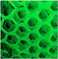 安全ネット 多目的な用途のネット 階段ネット 防護ネット 子供 転落防止網 プラスチック製セーフティネットグリーン防護ネット12ミリメートルガーデンネッティングメッシュ - 理想のために子供/ペット/おもちゃ - バルコニー、窓、パティオや手すり階段ネッティング 怪我防止 危険防止 簡単設置 丈夫 取り付けバンド付属 (Color : Green, Size : 1x5m)