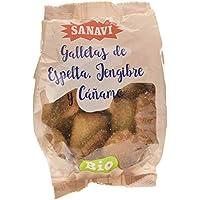 Sanavi Galletas De Espelta Jengibre Y Cañamo 200 G 200 G 200 g